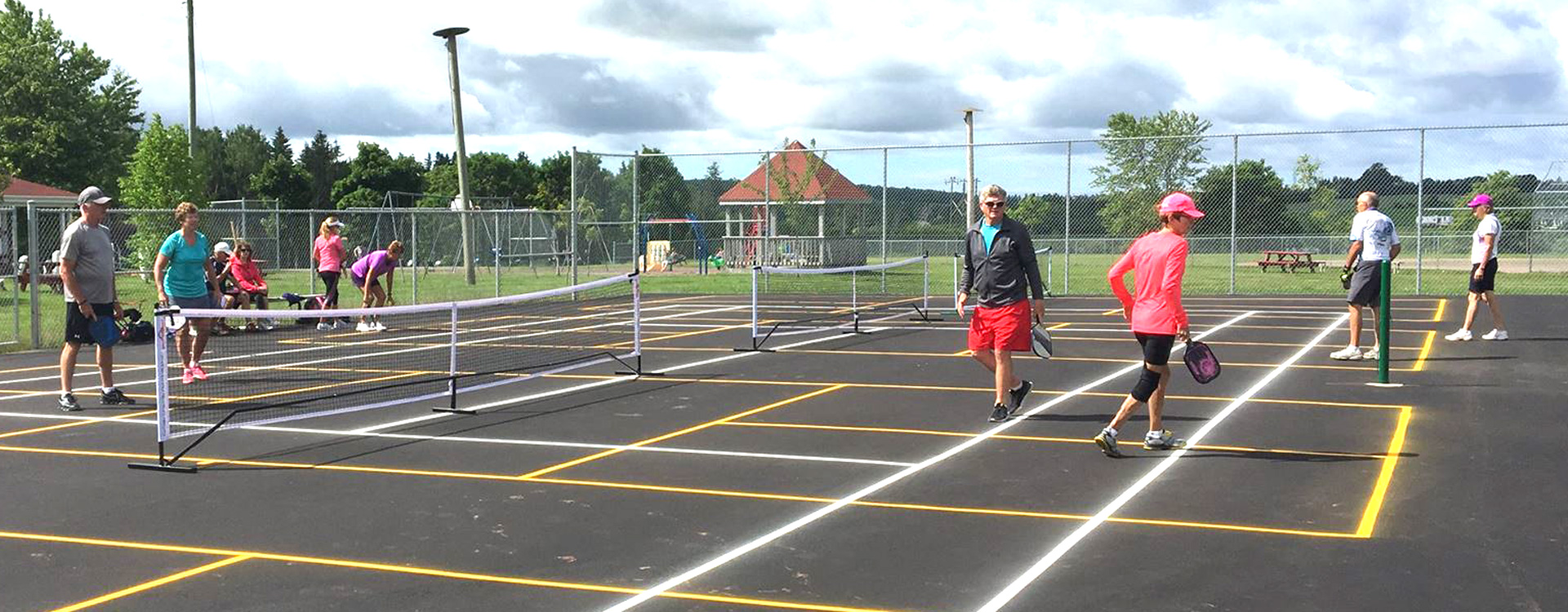 Miltonvale-Park - pickleball at the Park