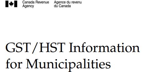 HST municipalities