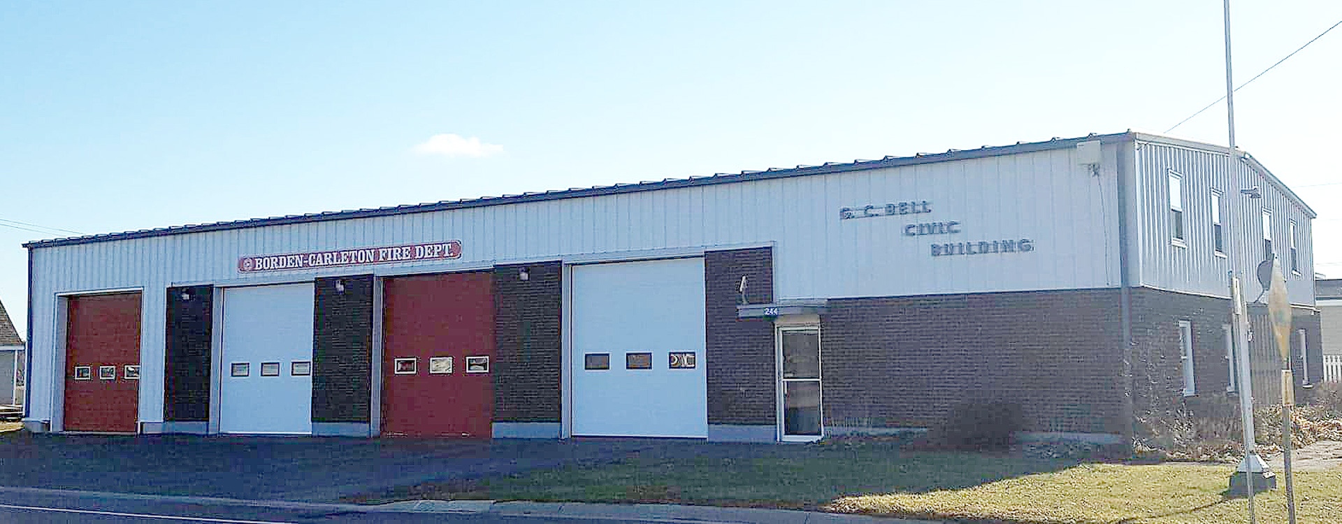 Borden-Carleton Fire Hall