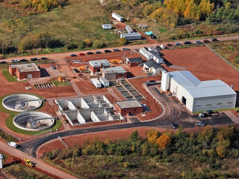 Summerside Waste Water Pollution Plant