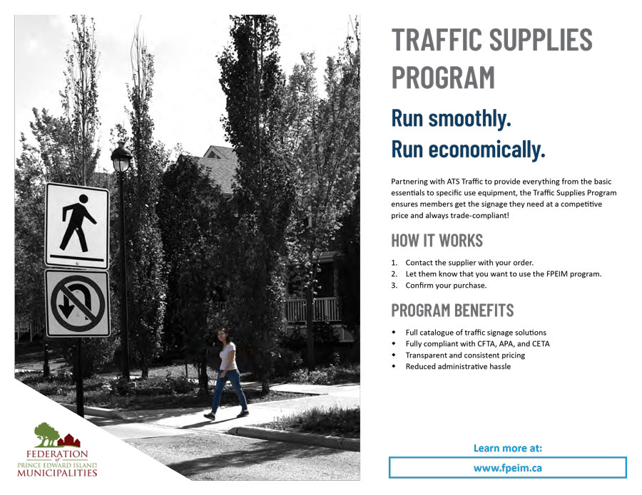 Traffic Supplies Program ~ FPEIM
